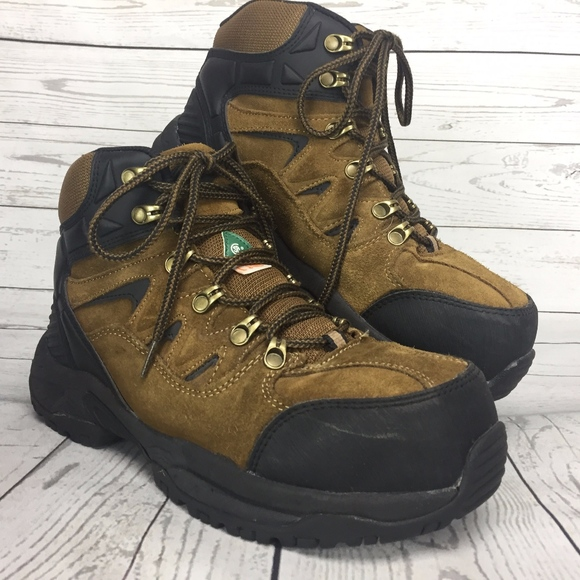 0a0c8375f79 Workload Men's Safety Steel Toe Boots 9W Leather